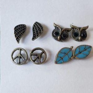 Jewelry - Antiqued Look earrings